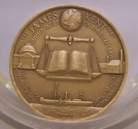 JAMES KENT Medallic Art Hall of Fame for Great Americans at NYU Bronze Medal