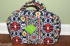 Vera Bradley SUN VALLEY Retired Travel XL Toiletries GRAND COSMETIC Case NWT