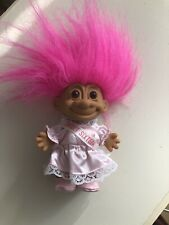 Vtg Troll Sweet 16 Russ Neon Pink Hair