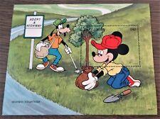 Gambia - 1996 - Postfris - Disney - Blok - Goofy - Mickey S/S