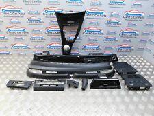 BMW E90 PRE LCI CCC  I-DRIVE Black Gloss Carbon Interior dashboard  Trim Set
