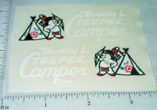 Buddy L Tee Pee Camper Sticker Set BL-040