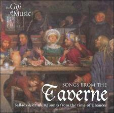 NEW Songs from the Taverne: Ballads & Drinking Songs from the Time of Chaucer