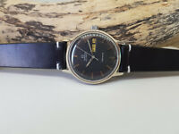 USED VINTAGE 1973 OMEGA GENEVE BLACK DIAL DAYDATE AUTOMATIC MAN'S WATCH
