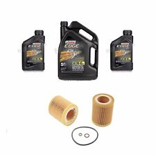 7 Quarts 5w40 CASTROL EDGE Full Synthetic Engine Motor Oil & Filter MANN for BMW