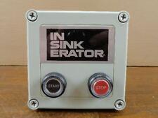 Unused Insinkerator MS-4 Garbage Disposer Control Center Switch 14356 120V