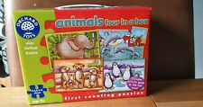 Orchard Toys animals 4 in a box - first counting puzzles