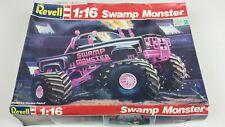 Vintage 1/16 Revell SWAMP MONSTER Truck Chevy 4x4 1:16 Scale Model Kit Pink Rare