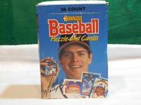 Donruss 1988 Baseball Puzzle and Cards. 36 Sealed Packs.