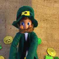 St Patricks Day; Leprechaun doll; Irish Tradition; Leprechaun Book; holiday book