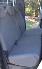 STALLION CANVAS SEAT COVERS TO SUIT GREAT WALL V200/V240 DUAL CAB REAR BENCH