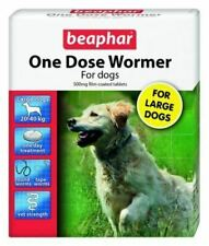 Beaphar One Dose Wormer for Large Dogs Tablets - 500mg