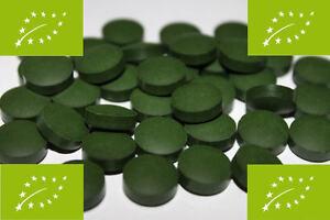 1kg BIO Spirulina Tabletten, Presslinge ohne Zusätze, 100% rein, beste Qualität