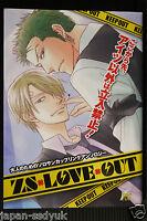 "JAPAN One Piece Zoro x Sanji Yaoi Doujinshi Anthology manga ""ZS x Love x Out"""