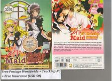 DVD Kaicho wa Maid Sama TV 1-24 end Complete Series+Bonus Anime DVD + Tracking
