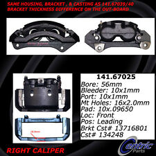 Centric Parts 141.67025 Front Right Rebuilt Brake Caliper With Hardware