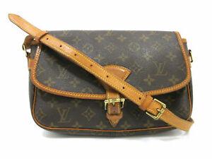 Authentic LOUIS VUITTON Monogram Sologne M42250 Shoulder Bag PVC Leather 87953