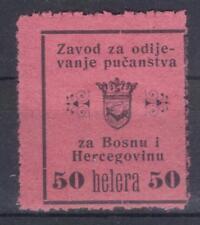 Bosnia Herzegovina Austria clothing departement revenue MH Stempelmarke
