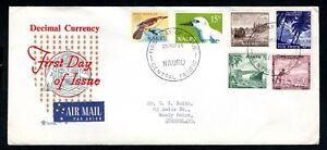 Nauru - 1966 Decimal Currency First Day Cover