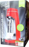 Wassersprudler Style Trend Inkl. 3 Flaschen Rot Wasserflasche SODA TREND *