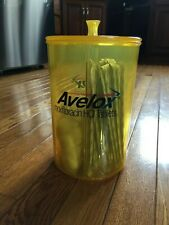 Avelox RX Pharmaceutical Advertising Drug Rep Canister Container Supply Jar w Su