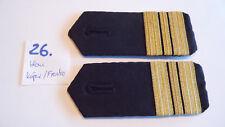 Bundeswehr Schulterstücke Marine blau Kapitänleutnant 1 Paar (26.)