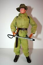 ACTION MAN ORIGINAL VINTAGE FIGURE 1975 geyperman gi joe SOLDADO AUSTRALIANO