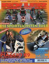 Roller Spezial 2000 2/00 Aprilia SR 50 Kymco Spacer Benelli Velvet 250 Madison