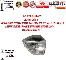 FORD S-MAX 2006-2014 WING MIRROR INDICATOR REPEATER LIGHT LAMP LENS LEFT SIDE