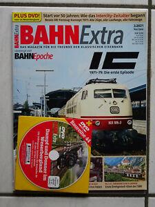 "Bahn Extra 3/2021  ""IC"" mit DVD"