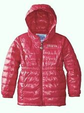 New Skechers Little Girls Twinkle Toes Hooded Puffer Jacket Pink S Size 4 Coat