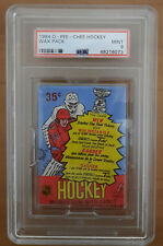 1984 OPC Hockey PSA 9 MINT wax pack Yzerman Chelios Lafontaine RC