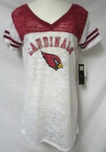 Touch by Alyssa Milano Arizona Cardinals Women's Size XL Sheer T-Shirt A1 3237