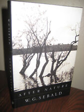 1st Edition AFTER NATURE W.G. Sebald FICTION First Printing CLASSIC