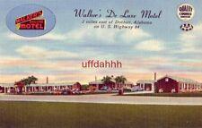 WALKER'S DE LUXE MOTEL DOTHAN, AL ON HIGHWAY 84 Mr & Mrs H H Green