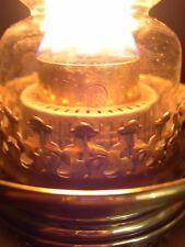 WILD & WESSEL  CATTERSON 18 LINE GLOBE VULKAN KEROSENE BANQUET OIL LAMP WORKING