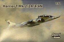 Sword 1/72 Model Kit 72098 BAe Harrier T Mk.2/Mk.2A/Mk.4/Mk.4N
