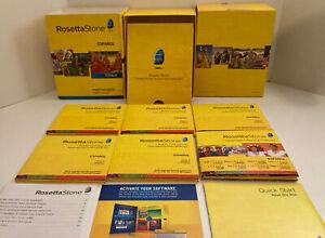 USED Rosetta Stone Spanish/Espanol Latin America Version 4 Level 1-5 No Headset