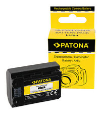 Patona Accu Batterij Sony NP-FZ100 Akku Battery Batterie Bateria 1600mAh