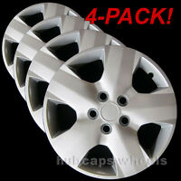 Toyota Rav4 2006-2012 Hubcaps - Premium Replacement 499-16s Silver (Set of 4)