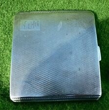 SMALL, SLIM & STYLISH ART DECO SILVER CIGARETTE CASE - BIRMINGHAM 1941 -3.17 ozt