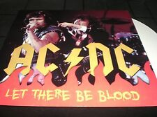 AC/DC Let There Be Blood vinyl LP unplayed color