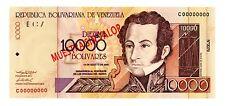 Venezuela ... P-85s ... 10,000 Bolivares ... 2002 ... *UNC* ... Specimen