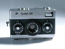 Vintage Sucherkamera Rollei 35 Germany Carl Zeiss Tessar 3,5/40 mit Mangel