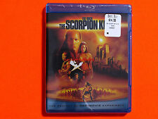 THE SCORPION KING Bluray **Brand New & Sealed**