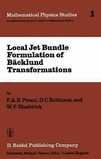 Local Jet Bundle Formulation of Bäckland Transformations: With Applica-ExLibrary