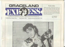ELVIS PRESLEY GRACELAND EXPRESS MAGAZINE 1994 THE TRIBUTE PYRAMID CLASSIFIEDS