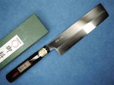 Japanese SAKAI Carbon Steel Usuba Vegetable Knife 180mm Akebono