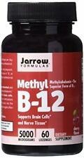 Jarrow Formulas Methylcobalamin (Methyl B12) Supports Brain Cells 5000 mcg 60