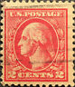 Scott #499 US 1917 2 Cent Washington Postage Stamp Perf 11